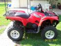 Grizzly 700 side view