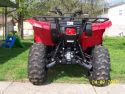 Grizzly 700 rear view