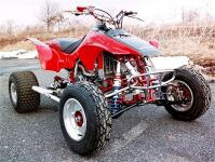 1997 honda fourtrax atv 4x4 n woods youtube