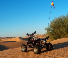 Outlaw in the dunes