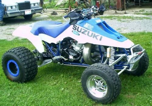 Dirtgirl's 1987 Suzuki LT500R