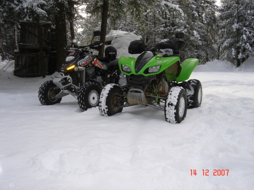ds650 and kfx700