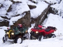 ATVs in the Snow